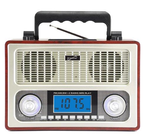 Supersonic 10 Band AM FM Shortwave Radio