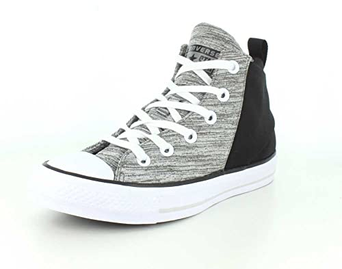 5d73a1c75135f5 Converse Womens Chuck Taylor All Star Sloane Neoprene Hi Top Mouse Black White  Sneaker