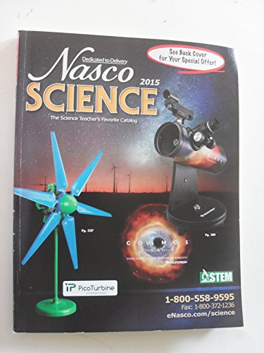 nasco science the science teacher's favorite catalog 2015 (paperback) -