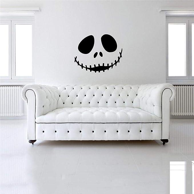 Amazon.com: Adhesivo mural para pared, diseño de Happy ...