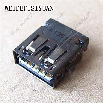Connectors New 3.0 USB Jack Connector for ASUS X550 X550C X550V A550C Y581C Y581L FX50J USB 3.0 Port Socket Cable Length: 2PCS