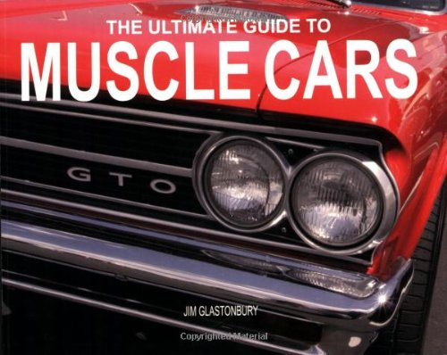 Ultimate Guide To Muscle Cars Paperback Chunkies Jim Glastonbury