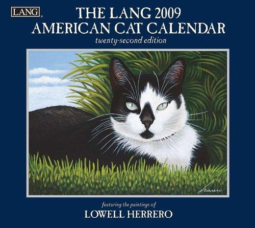 Read Online The LANG American Cat 2009 Wall Calendar PDF
