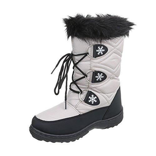 Design Boot Hellgrau Ital Classic Damen pxCHCwgqc