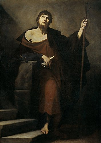 ('Ribera Jose De Santiago El Mayor 1631 ' Oil Painting, 12 X 17 Inch / 30 X 43 Cm ,printed On High Quality Polyster Canvas ,this High Resolution Art Decorative Prints On Canvas Is Perfectly Suitalbe For Foyer Artwork And Home Decoration And Gifts)
