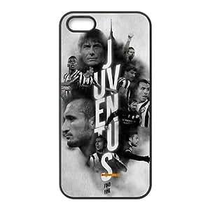 Juventus iPhone 5 5s Cell Phone Case Black xlb-150499