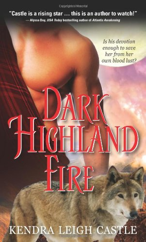 book cover of Dark Highland Fire