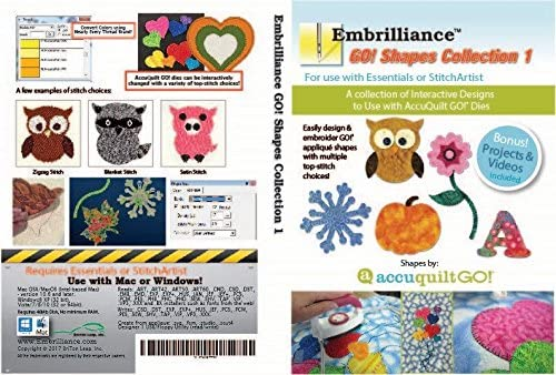 Edition Embroidery Software Embrilliance Essentials AccuQuilt GO