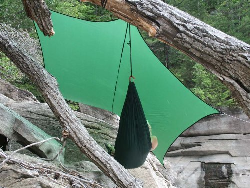 ENO Eagles Nest Outfitters - ProFly XL Sil Rain Tarp, Lichen by Eagles Nest Outfitters (Image #2)