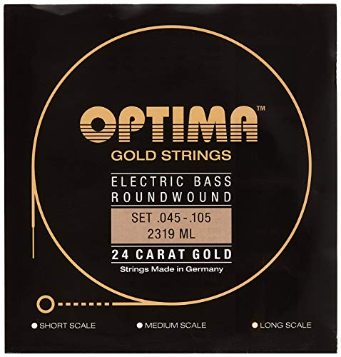 Optima 2319 LS Bass GOLD Strings, Long Scale, medium ()