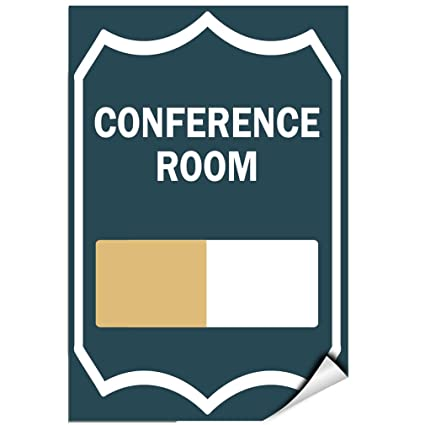 amazon com conference room in use style 5 business sign label