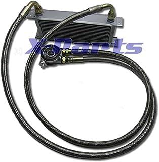 Silbern Getriebe /Ölk/ühler Kit Universal Automotive Transaver Automatikgetriebe /Ölk/ühler Set Auto Lkw Trans Aluminium Motor//Getriebe Racing /Ölk/ühler