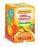 Cheap Emergen-C Chewable (40 Count, Orange Blast Flavor) Dietary Supplement Chewable Tablet with 1000mg Vitamin C & Vitamin B6, Energy, Antioxidants