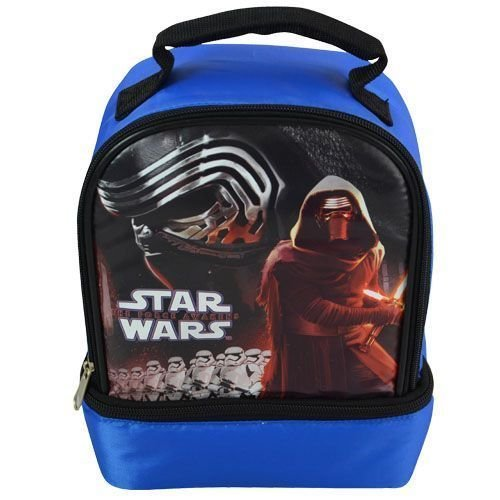 [Disney Star Wars The Force Awakens KYLO REN & STORMTROOPERS Lunch Bag -Blue-] (Baby State Trooper Costume)