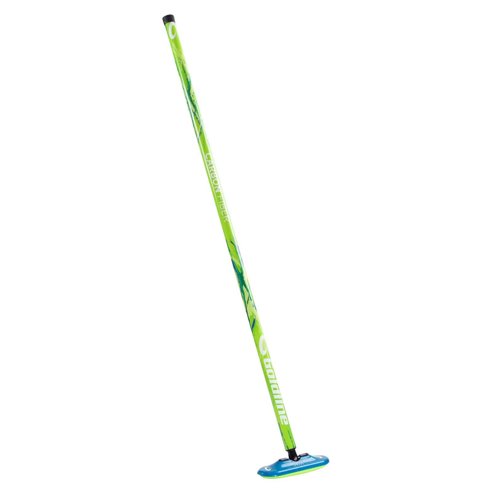 Carbon Fiber Air Curling Broom: Earth 1 1/8'' by Goldline Curling