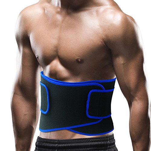 6d41f61a04a ... comfort and back support. (click photo to check price). 2. Becko Adjustable  Waist Trimmer Belt ...
