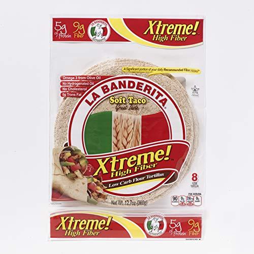 La Banderita Xtreme High Fiber Flour Tortillas | 8