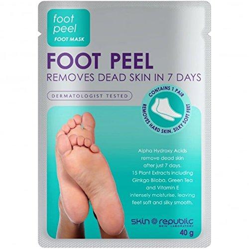 Skin Republic Foot Peel Foot Mask 40ml x 4 Skin Republic Skin Laboratory