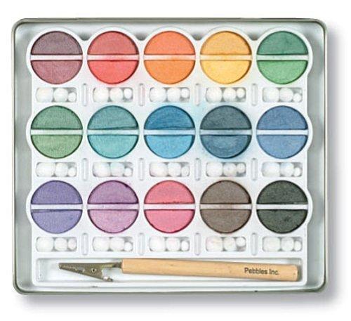 Pebbles Inc. I Kan'dee Chalk Set, Pearlescent Jewel Tones by PEBBLES - Chalk Pebbles