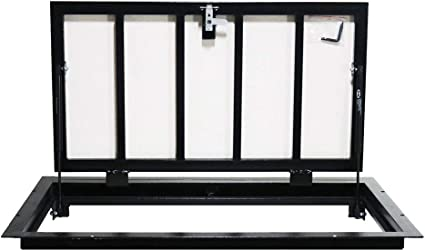 Trappe de sol 90cm x 60cm H Trappe d/'acc/ès Panneau dacc/ès Trappe de visite