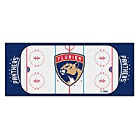 FANMATS NHL Florida Panthers Nylon Face Football Field Runner
