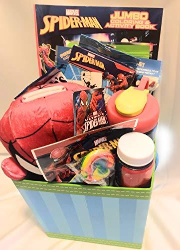 Marvel Spider-Man Easter Basket OR Birthday Basket -