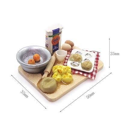 1:12 Cute MINI Dollhouse Miniature Food accessories dollhouse bread