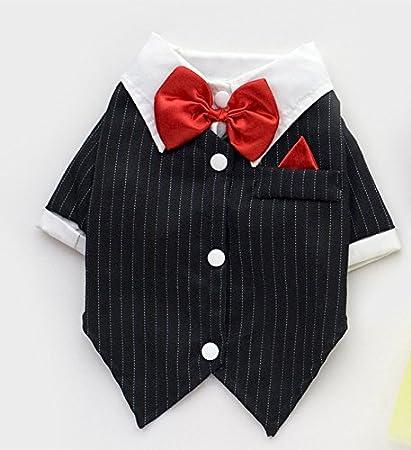 Buy Pinkdose Black Xxl Cat Puppy Clothes Dog Wedding Dress Tuxedo