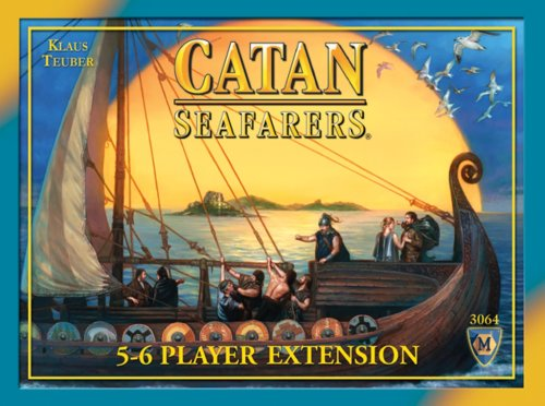Mayfair Games Catan: Seafarers 5&6 Player Extension 4th Edition