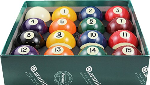 Great Features Of Aramith 2-1/4 Regulation Size Premier Billiard/Pool Balls, Complete 16 Ball Set