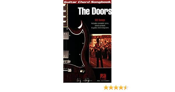 Amazoncom The Doors Guitar Chord Songbooks 9781423419310 The