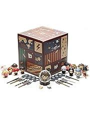 Paladone PP6239HP Harry Potter adventskalender kubus met 24 geschenken, kerstcountdown-speelgoed