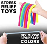 Stretchy Calming Noodle Autism Toys - Glow in The