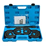 8milelake Compatible with Mercedes Benz Suspension Coil Spring Compressor Repair Tool Set