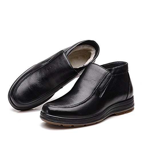 Business casual winter boots/ winter father shoes/Middle and old aged men shoes/ the old man shoes