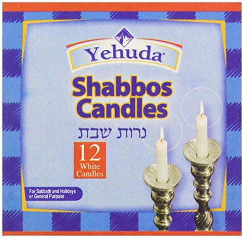 Yehuda 3 Hour Sabbath Candles, 12 ct