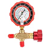 Manifold Gauge, Air Condition Manifold Gauge Manometer& Valve 800psi 55kgf/cm² Fit for R404a R22 R410 R134A