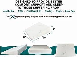 Amazon.com: Xtreme Comforts - Almohada de espuma ...