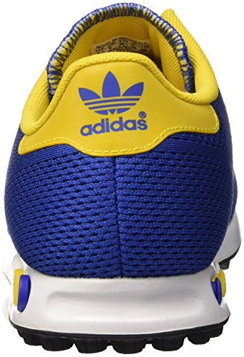 Yellow Em Blue Adulte La Trainer eqt Adidas ftwr White Basses bold Baskets Mixte Bleu qPx4CwE
