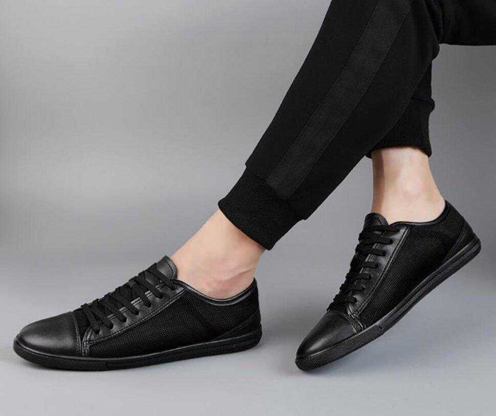 CAI Lederne beiläufige Schuhe der Männer 2018 Vier Jahreszeiten Jahreszeiten Jahreszeiten mit Breathable Art- und Weisebeiläufiges Ineinander greifen Lace-up gehende Schuhe Mens-Reise-Schuhe einen.Kreislauf.durchmachenschuhe e48f25