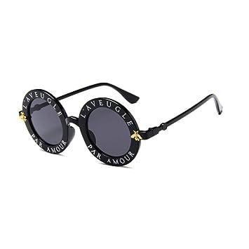 ZHOUYF Gafas de Sol Vintage Gafas De Sol Redondas Mujeres ...