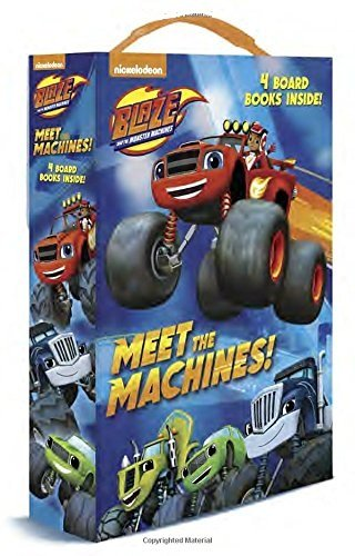 Blaze and the Monster Machines 4 in a Box Board Books Book Set