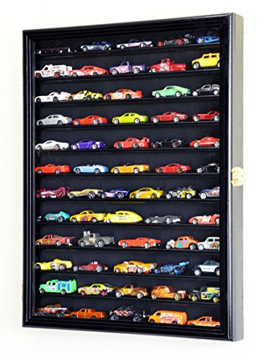 Hot Wheels Display Case Cabinet Wall Rack