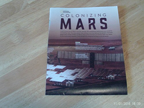 - National Geographic November 2016 MARS MAP SUPPLEMENT: COLONIZING MARS