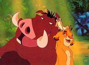 "Disney THE LION KING Cel ""HAKUNA MATATA""Very RareSold-Out"