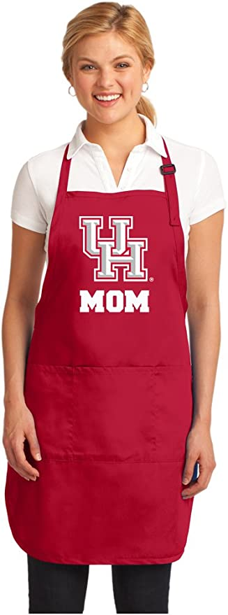 Broad Bay Deluxe UH Apron Official University of Houston Logo Aprons