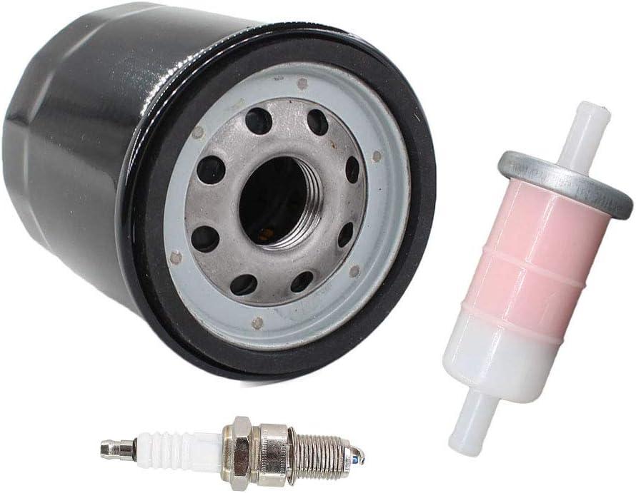 KAF400 Fuel Gauge /& Gas Cap Replacement Kit Kawasaki Mule 610//600