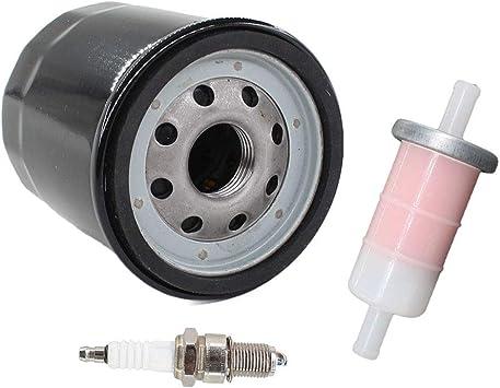Kawasaki MULE Tune Up Kit Spark Plug /& Oil Filter KAF400 KAF 400 600 610 08-16