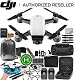 DJI Spark Portable Mini Drone Quadcopter Fly More Combo Bundles (Alpine White) Review