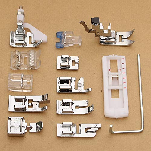 - Sewing Tools Wholesale 13Pcs Electric Sewing Machine Low Shank Presser Feet Attachments Set for Husqvarna Viking Supplies Walking Foot Kit